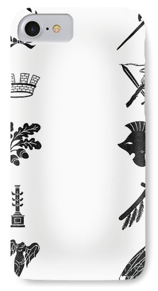 Symbols: Victory And War Phone Case by Granger