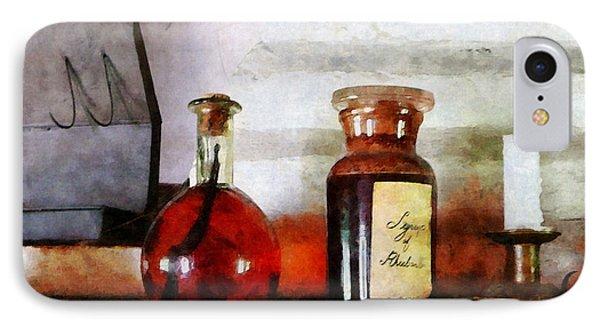 Syrup Of Rhubarb Phone Case by Susan Savad