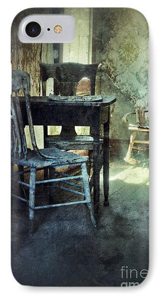 Table And Chairs Phone Case by Jill Battaglia