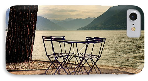 Table And Chairs Phone Case by Joana Kruse