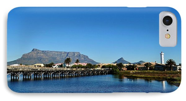 IPhone Case featuring the photograph Table Mountain by Werner Lehmann