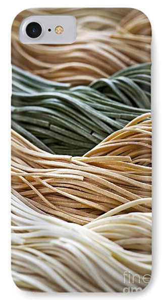 Tagliolini Pasta IPhone Case by Elena Elisseeva