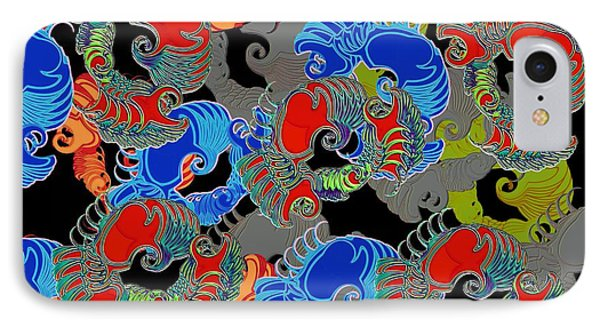 Tainted Shrimp IPhone Case by Alec Drake