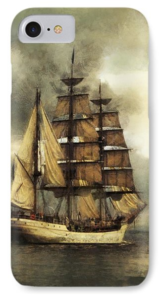 Tall Ship Phone Case by Marcin and Dawid Witukiewicz