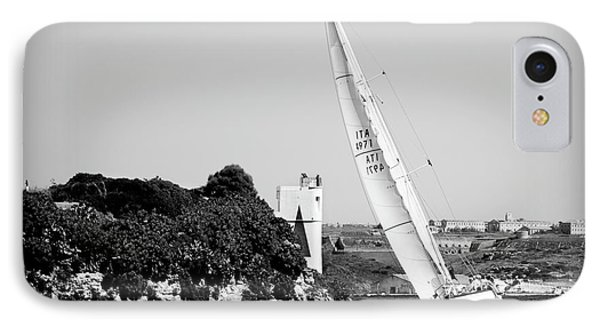 IPhone Case featuring the photograph Tall Ship Race 1 by Pedro Cardona