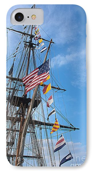 Tall Ships Banners Phone Case by David Bearden