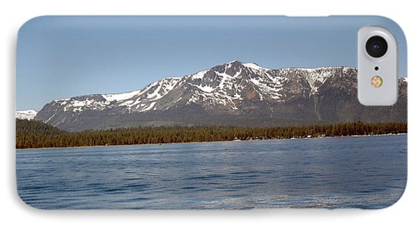 Tallac From The Lake Phone Case by LeeAnn McLaneGoetz McLaneGoetzStudioLLCcom