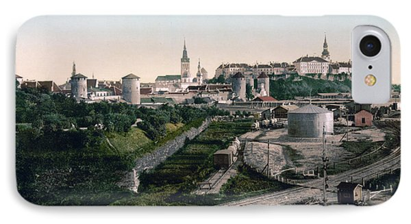 Tallinn Estonia - Formerly Reval Russia Ca 1900 Phone Case by International  Images