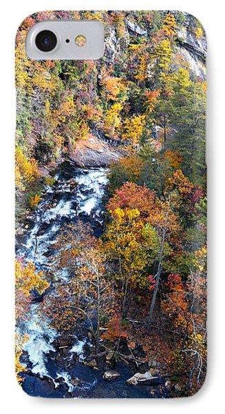 Tallulah River Gorge Phone Case by Susan Leggett