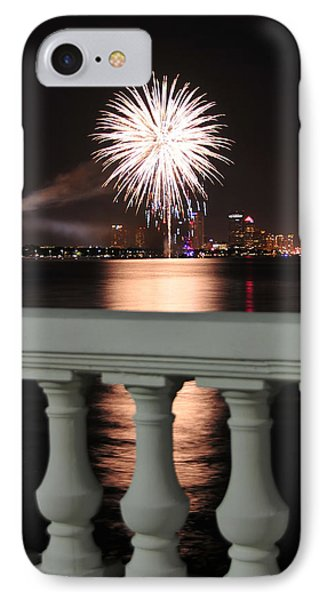 Tampa Bay Fireworks Phone Case by David Lee Thompson