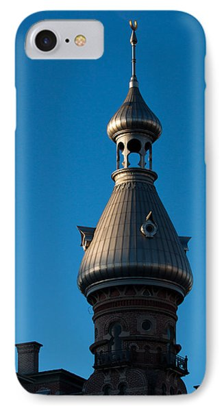 IPhone Case featuring the photograph Tampa Bay Hotel Minaret by Ed Gleichman