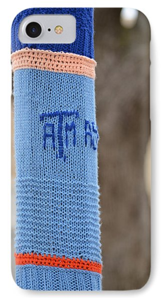 Tamu Astronomy Crocheted Lamppost IPhone Case by Nikki Marie Smith