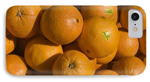 Tangerines Phone Case by Tim Mulina