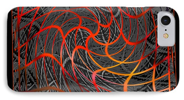 Tangled Web Of Lies Phone Case by Ginny Schmidt