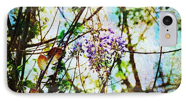 Tangled Wisteria Phone Case by Andee Design