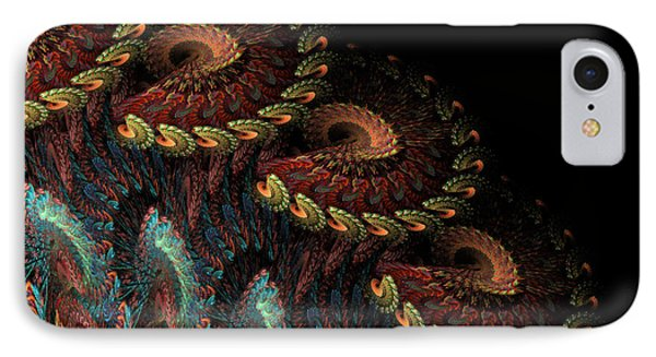 IPhone Case featuring the digital art Tapestry by Kathleen Holley