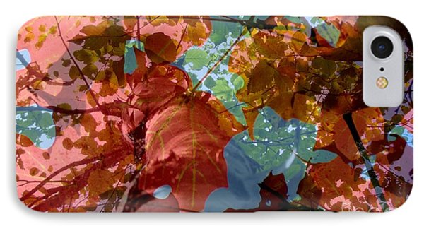 IPhone Case featuring the photograph Tapestry Of Autumn 2 by France Laliberte