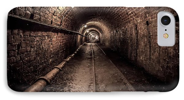 Tar Tunnel 1787 IPhone Case by Adrian Evans