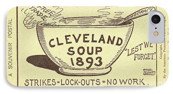 Tariff League Postcard, 1906 Phone Case by Granger