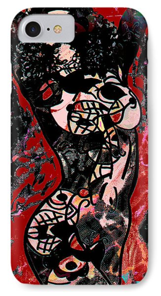 Tattoo Nude Phone Case by Natalie Holland