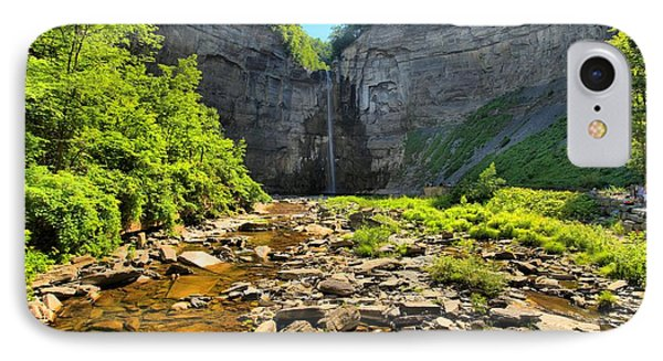 Taughannock Falls Canyon IPhone Case by Adam Jewell