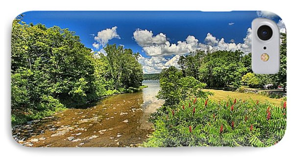 Taughannock Falls Creek IPhone Case by Adam Jewell