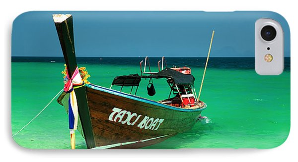 Taxi Boat Phone Case by Adrian Evans