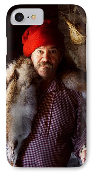 Taxidermist - Jaque The Fur Trader Phone Case by Mike Savad