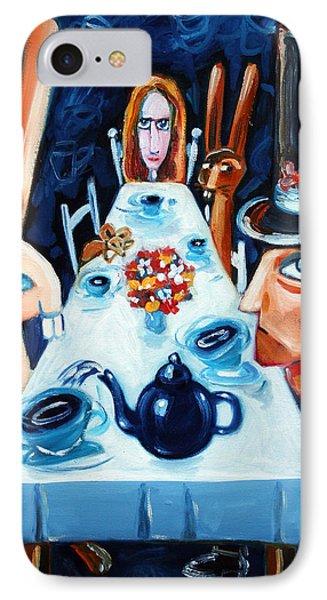 Tea By Night Phone Case by Leanne Wilkes