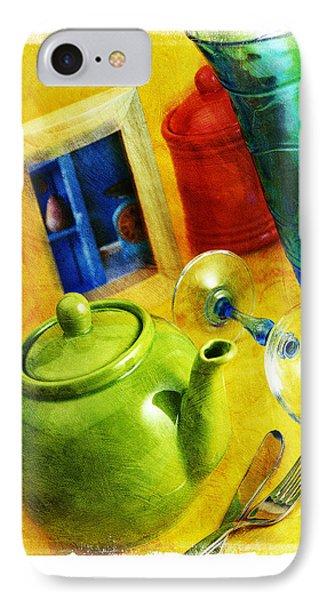 Tea Pot Phone Case by Mauro Celotti