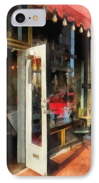 Tea Room In Sono Norwalk Ct Phone Case by Susan Savad