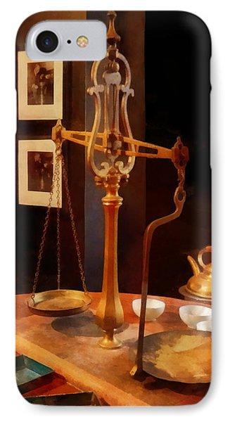 Tea Scale Phone Case by Susan Savad
