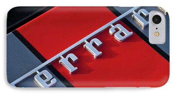 Team Ferrari IPhone Case