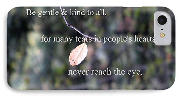 Tears In People's Hearts IPhone Case by Michelle Frizzell-Thompson