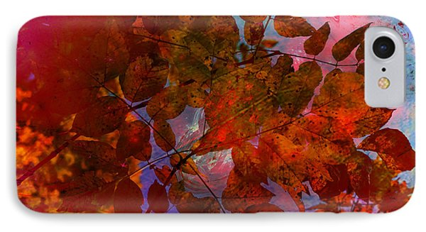 Tears Of Leaf  Phone Case by Jerry Cordeiro