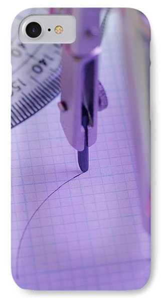 Technical Drawing Phone Case by David Aubrey