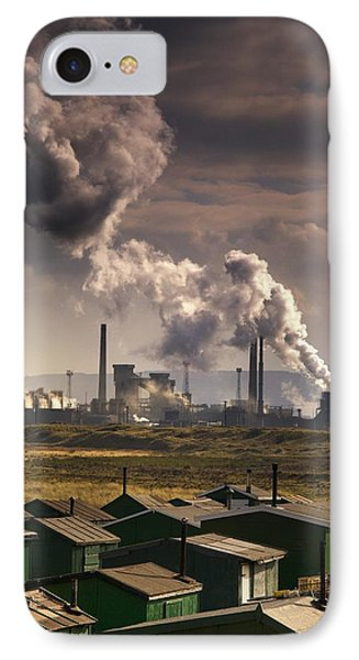 Teesside Refinery, England Phone Case by John Short