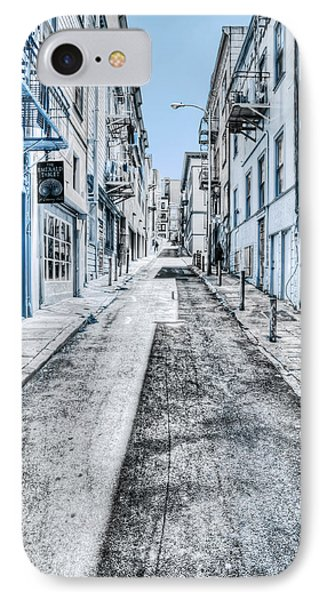 Telegraph Hill Blue IPhone Case by Scott Norris