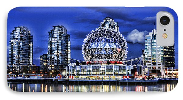 Telus Science Center Vancouver Bc Phone Case by Lawrence Christopher