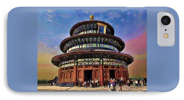 Temple Of Heaven - Beijing China IPhone Case