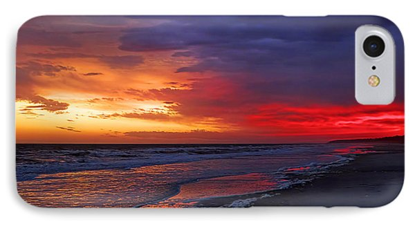 Ten Minutes On The Beach  Phone Case by Phill Doherty
