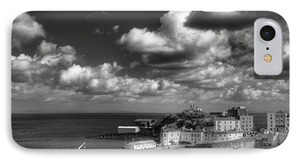 IPhone Case featuring the photograph Tenby Harbour by Steve Purnell