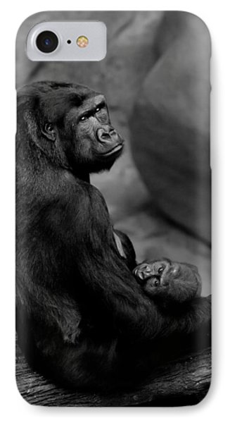Tender Moment IPhone Case by Sebastian Musial