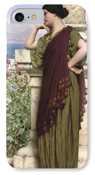Tender Thoughts Phone Case by John William Godward