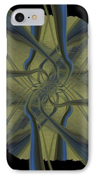 Tendrils Phone Case by Tim Allen