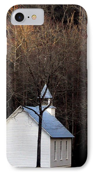 Tennessee Mountain Church Phone Case by Skip Willits