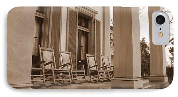 Tennessee Plantation Porch Phone Case by Carol Groenen