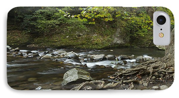 Tennessee Stream Panorama 6045 6 IPhone Case by Michael Peychich