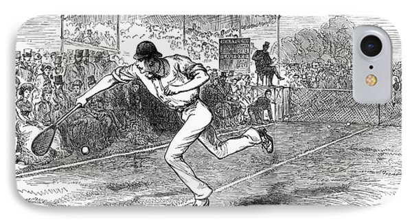 Tennis: Wimbledon, 1880 IPhone Case