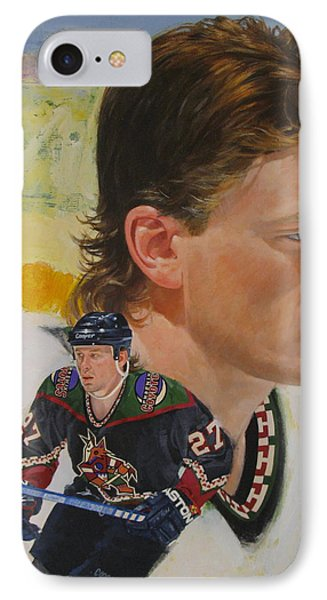 Teppo Numminen IPhone Case by Cliff Spohn